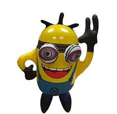#PopularKidsToys Just Added In New Toys In Store!Read The Full Description & Reviews Here - Kids Children Inflatable Minion Despicable Me Party Fun Blow Up Toy - Inflatable minion toy (size 45cm x 30cm) Great party fun for both kids and adults Free standing    Frequently Bought Together       +      +      +        Price for all: £8.04        This item: Kids Children Inflatable Minion Despicable Me Party Fun Blow Up Toy £2.99    Inflatable Giraffe - 59CM tall &pou