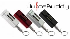 Pacific Productions has unveiled JuiceBuddy, an iPhone charger which comes in three colors and fits on a keyring.