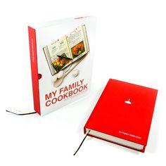 "SUCK UK ""My Family Cookbook"""
