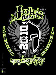 1st Work Design for JOK'S FIGHT
