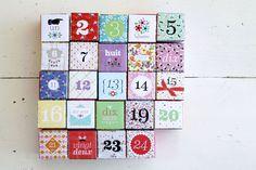 We love the Advent Calendar by @fifi fi Mandirac !