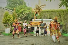 A short drama during ngarak ogoh ogoh parade #nyepi