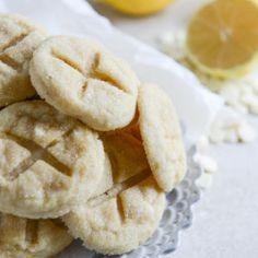 white chocolate lemon butter cookies I howsweeteats.com-4