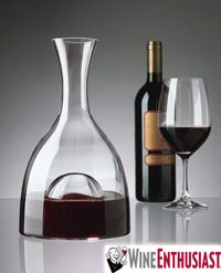 This Visual Wine Decanter is a must have for any wine connoisseur or novice, made by Wine Enthusiast Catalog who offers the most extensive collection of  wine accessories on the internet.