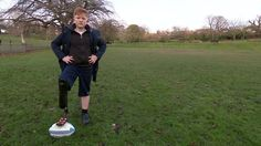 NHS running blade fuels boy's Paralympic goal - BBC News