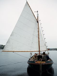 She'd only ever seen sail boats out on the ocean. Now they have a sail boat full of love. Adventure Awaits, Adventure Travel, Mythos Academy, Life Aquatic, Wooden Boats, Tall Ships, Catamaran, Adventure Is Out There, The Places Youll Go