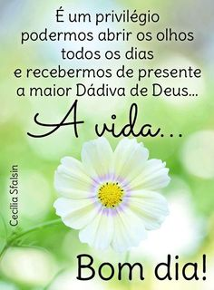Bom dia a todos ceaderjianos que Deus nos conceda um único dia maravilhoso em sua presença Good Afternoon, Good Morning, Pastor Anderson, Portuguese Quotes, Peace Love And Understanding, Cookies Et Biscuits, Good Day, Peace And Love, Thoughts
