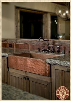 One day I will have an amazing barn house kitchen sink. In white though. Definitely Not copper