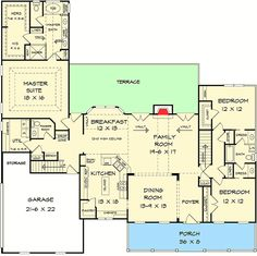 Appealing 3 Bed Country House Plan - 36060DK | Architectural Designs - House Plans