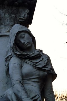 Pere Lachaise Cemetery, Paris, France by Christopher, via Flickr