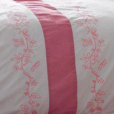 Housse de couette et taie d'oreiller Jardin d'été | King of Cotton