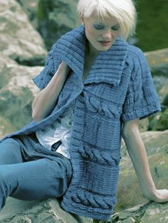 71 Best Knitted Waistcoats For Adults Images Crochet Patterns