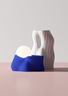 Andrés Reisinger, The Multidisciplinary Designer Mesmerising the Internet with His Surrealistic Digital Dreamscapes Ceramic Clay, Ceramic Pottery, Lamp Design, 3d Design, Textile Design, Sculpture Art, Decoration, Designer, Furniture Design
