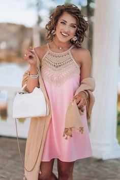 f2d079a89fc06e Lilly Pulitzer Pearl Shift Dress - Something Delightful Blog Bold Fashion,  Spring Fashion, Fashion