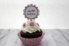 National Nurses Week Cupcakes