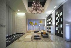 House, ABYAAR VQ VENTIQUATTRO RADISSO SAS RESIDENCE DUBAI MARINA: Luxurious Residence Interior Design By Oranel Noel Design Architects