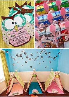 cute slumber party idea