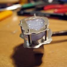 Stone Setting Using Rivets