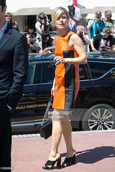Photo d'actualité : Actress Marina Fois is seen during the annual...