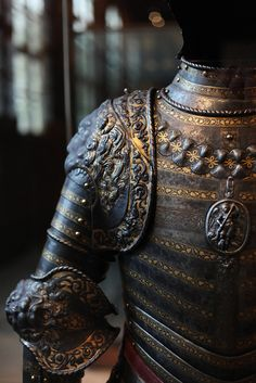 Armor in the army museum of Invalides in Paris, France by Jonathan Haider