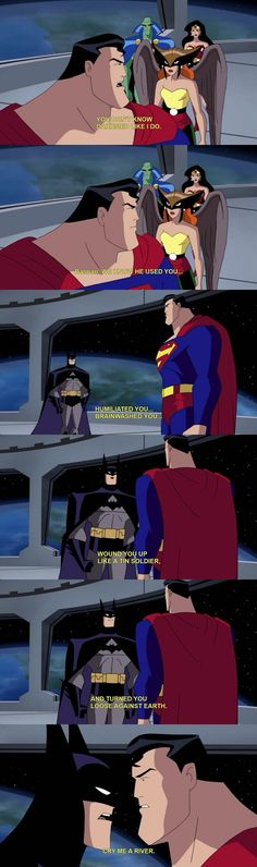 You need to go to sensitivity training Batman
