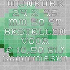 Wijnkurk 24 x 45 mm 50 st. bestellen voor €10,50 bij Brouwmarkt. Houder voor naamkaartje/menukaart