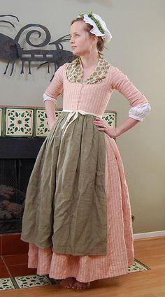 Striped Linen Round Gown | Flickr - Photo Sharing!