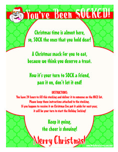 This is fun to print and surprise a friend or neighbor with a sweet stocking filled with goodies. The gift that keeps on giving. #Christmas #Stockings #Activity #Free #Printable