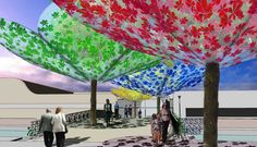 images of dappled etfe canopy - Google Search
