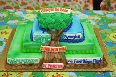 Wow!! Leader in Me cake. We HAVE to have one of these!!! @Sherri Kellenberger @Merri Livingston @Sonja Jones @Richi Reynolds-You can make this for us!