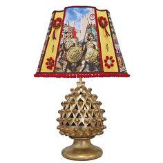 """I Paladini"" #loveitaly #homedecor #lighting #lampshade #homeinterior #interiordesign #homeidea #taormina #madeinitaly #ceramicadicaltagirone #homedesign #lamps #decor #arch"