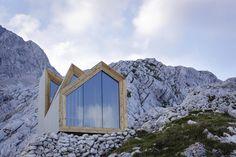 Un coqueto refugio de montaña para alpinistas hedonistas.