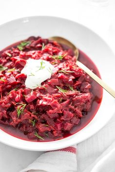 Hunky Heartbeet Cabbage Soup — Oh She Glows