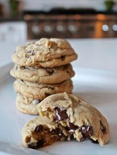 Soft and Chewy Chocolate Chip Cookies - Cake by Courtney