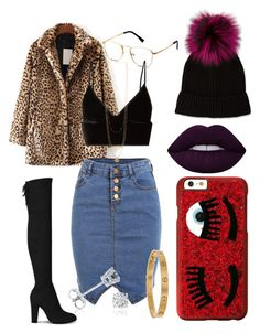 Spice Girl by kymypayne on Polyvore featuring polyvore, fashion, style, T By Alexander Wang, WithChic, Cartier, Amanda Rose Collection, Chiara Ferragni, Neiman Marcus, Lime Crime and clothing
