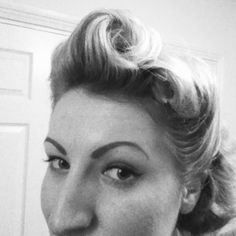 Love victory rolls!