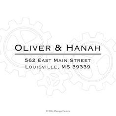 95 best chicago factory stamps images on pinterest custom address