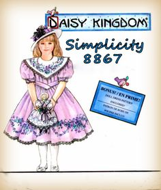 Vintage 1990s Sewing Pattern Simplicity by mmmsvintagepatterns
