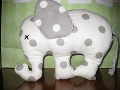 Stuffed Elephant sewing tutorial