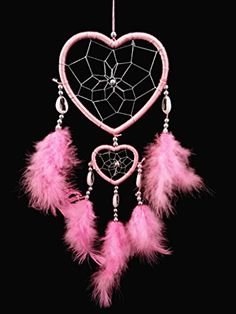 Pink Heart-shaped Dream Catcher and a Gift Bag with Betterdecor on It-2 R Betterdecor http://www.amazon.com/dp/B00DCE4NIQ/ref=cm_sw_r_pi_dp_fPQWub0NCTV6R