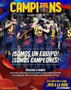 Campeones!! 2012-2013 ❤⚽