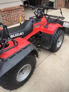 Used 1995 Suzuki QUADRUNNER LT 250 ATVs For Sale in Michigan ...