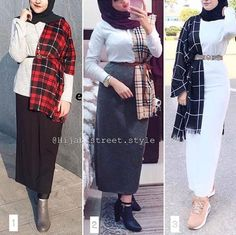 Tag your friend 😊 And shaire 😊 . Modest Fashion Hijab, Modern Hijab Fashion, Street Hijab Fashion, Muslim Women Fashion, Hijab Casual, Hijab Fashion Inspiration, Islamic Fashion, Hijab Chic, Hijab Outfit