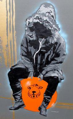Bouncer by Bungle Art, Bristol