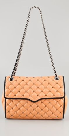 Rebecca Minkoff Studded Affair Bag.   I want to have an affair with this bag!