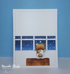 My Favorite Things - Lucky dog (outside card)