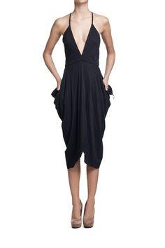 Ania Kuczyńska Sukienka STEVIE NICKS BLACK TEXAS TEA cotton