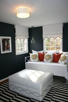 Farrow and Ball Blue Black and Phoebe Howard