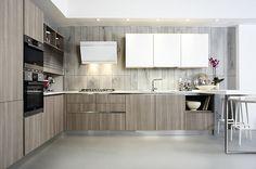 Cucine design contemporaneo cucine componibili laminato bordo alluminio cucine moderne colorate cucine razionali Siena Poggibonsi AURORA