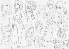 Sketches 01, Geo Siador on ArtStation at https://www.artstation.com/artwork/JmGXA